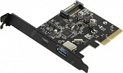 Orico <PA31-AC> (RTL) PCI-Ex4, USB3.1-A+USB3.1-C  port-ext