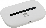 Huawei <E5330Bs-2 White> 3G Mobile Wi-Fi router (802.11b/g/n, 1500 mAh, слот  для сим-карты)