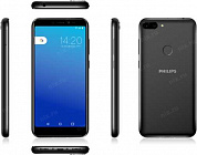 "Philips S561 (1.6GHz, 3Gb, 5.45""1440x720, 4G+WiFi+BT,  32Gb+microSD, 13+2Mpx)"