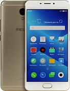 "Meizu M5 Note <M621H-16Gb> Gold (1.8+1GHz, 3Gb, 5.5""1920x1080 IPS, 4G+WiFi+BT, 16Gb+microSD, 13Mpx)"