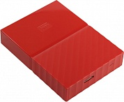 "WD <WDBUAX0040BRD-EEUE> My Passport 4Tb EXT (RTL) Red 2.5"" USB 3.0"