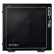 EVGA 160-B0-2230-KR DG-76 , Matte Black Mid-Tower, 2 Sides of Tempered Glass, RGB LED and Control Board