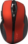Jet.A Optical Mouse <OM-U25G Red> (RTL) USB 6btn+Roll, беспроводная