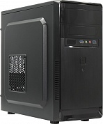Miditower NAVAN  IS002-U3-BK MicroATX  без БП