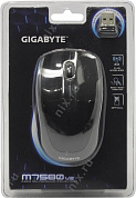 GIGABYTE High Performance Wireless Optical Mouse GM-M7580 (RTL)  USB  3btn+Roll, уменьшенная <541460/546281>